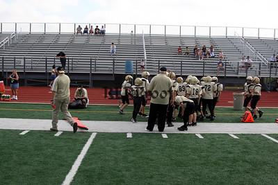 Cleburne Major 1 vs Alvarado October 10, 2008