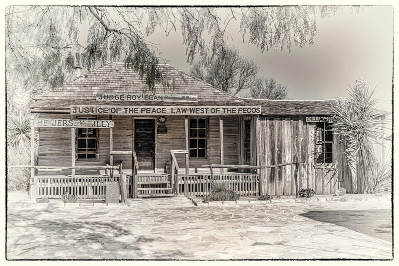Judge Roy Bean Home - Langtry, Val Verde Co, TX