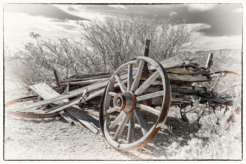 'End of the Road' - Only in Terlingua Series - No. 3