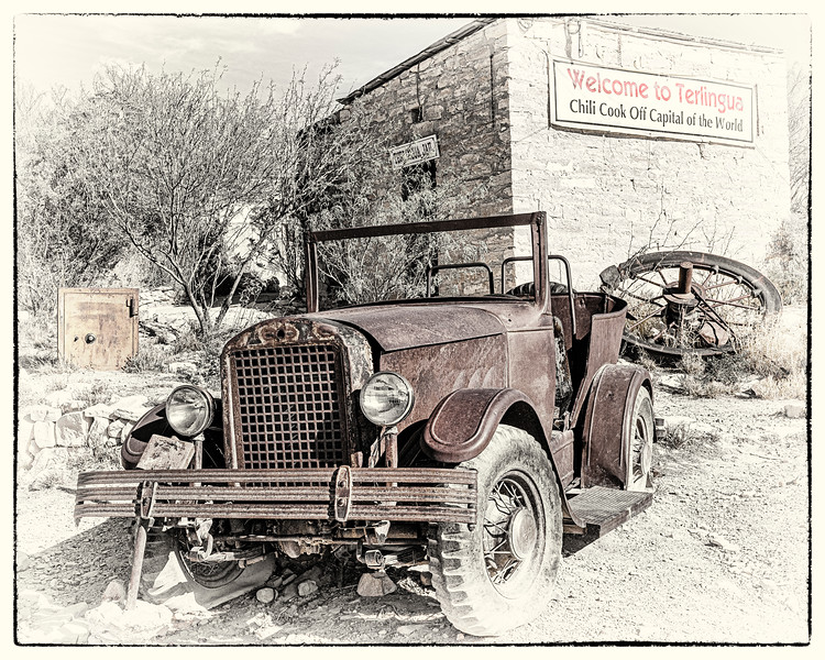'But She Runs Real Good!' - Only in Terlingua Series - No. 1