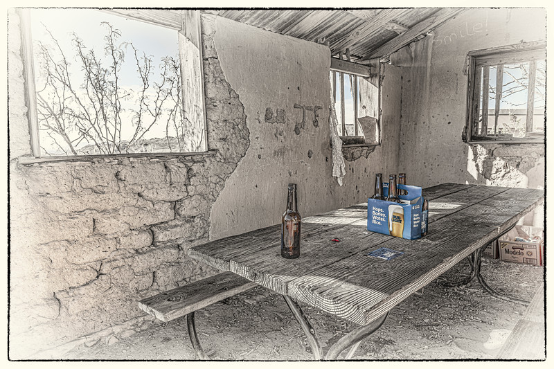 'Last Night' - Only in Terlingua Series - No. 5