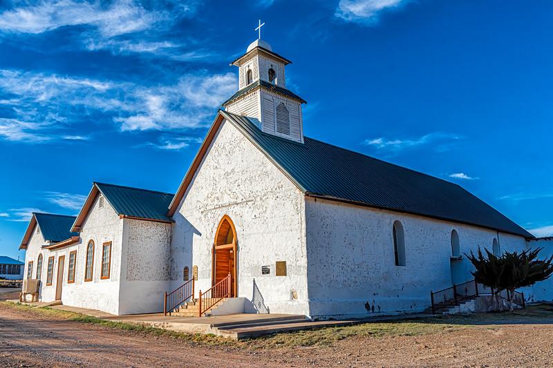 Sacred Heart Catholic Mission Church, Shafter, Presidio Co, TX