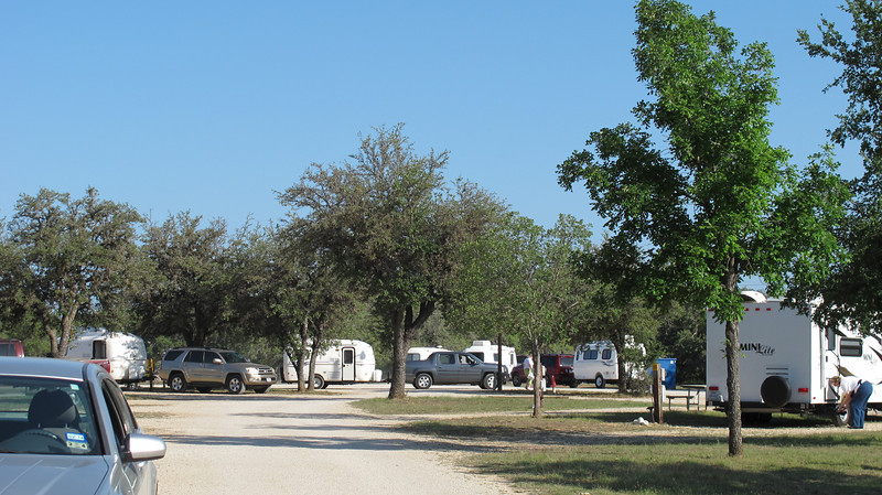 Skyline RV Park, Bandera TX. 136 rigs, 263 participants at the Casita Bluebonnet Gathering.