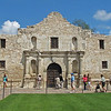 The Alamo in downtown San Antonio.