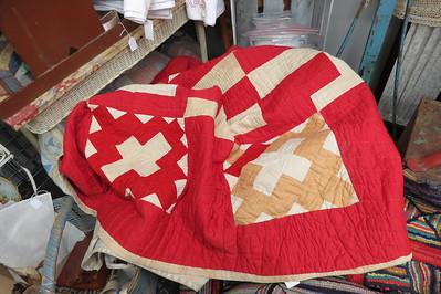 signature block with make do fabric