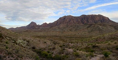 Maxwell Ross drive view from Apache Canyon Trail hike