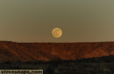 Moonrise in Big Bend National Park