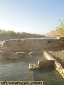 Big Bend National Park Hot Spring 50 miles from Terlingua, Texas