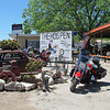 "The Hog Pen, Leakey (pronounced ""Lake-ee"") TX. Beer, BBQ and Bikers. Stopped here for lunch."