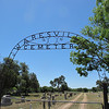 "Waresville Cemetery, Utopia TX, featured in the movie ""Seven Days in Uptopia)."