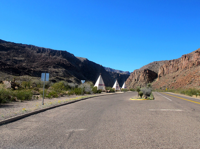 Big Bend Ranch State Park picnic area.