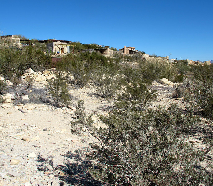 The ruins of Terlingua...but some of them have been restored and are inhabited.
