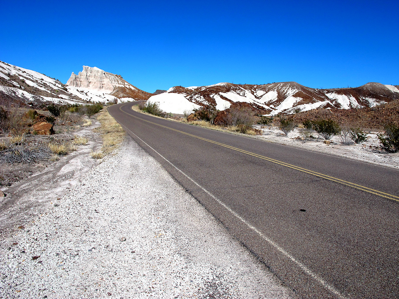 Ross Maxwell Scenic Drive, Big Bend National Park