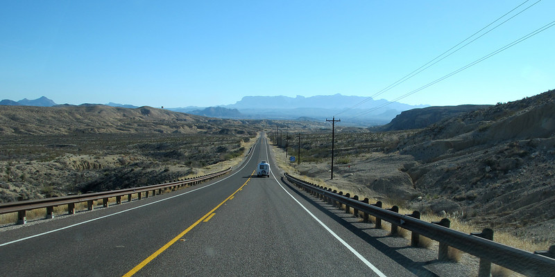 Leaving Lajitas, heading toward Terlingua and Big Bend National Park. Quite the panoramic view!
