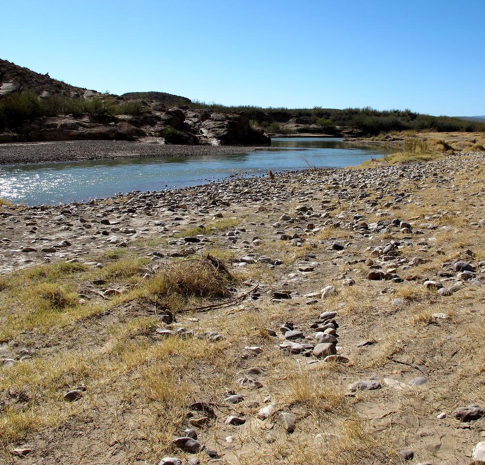 The Rio Grande, Bouquillas Canyon, Big Bend NP
