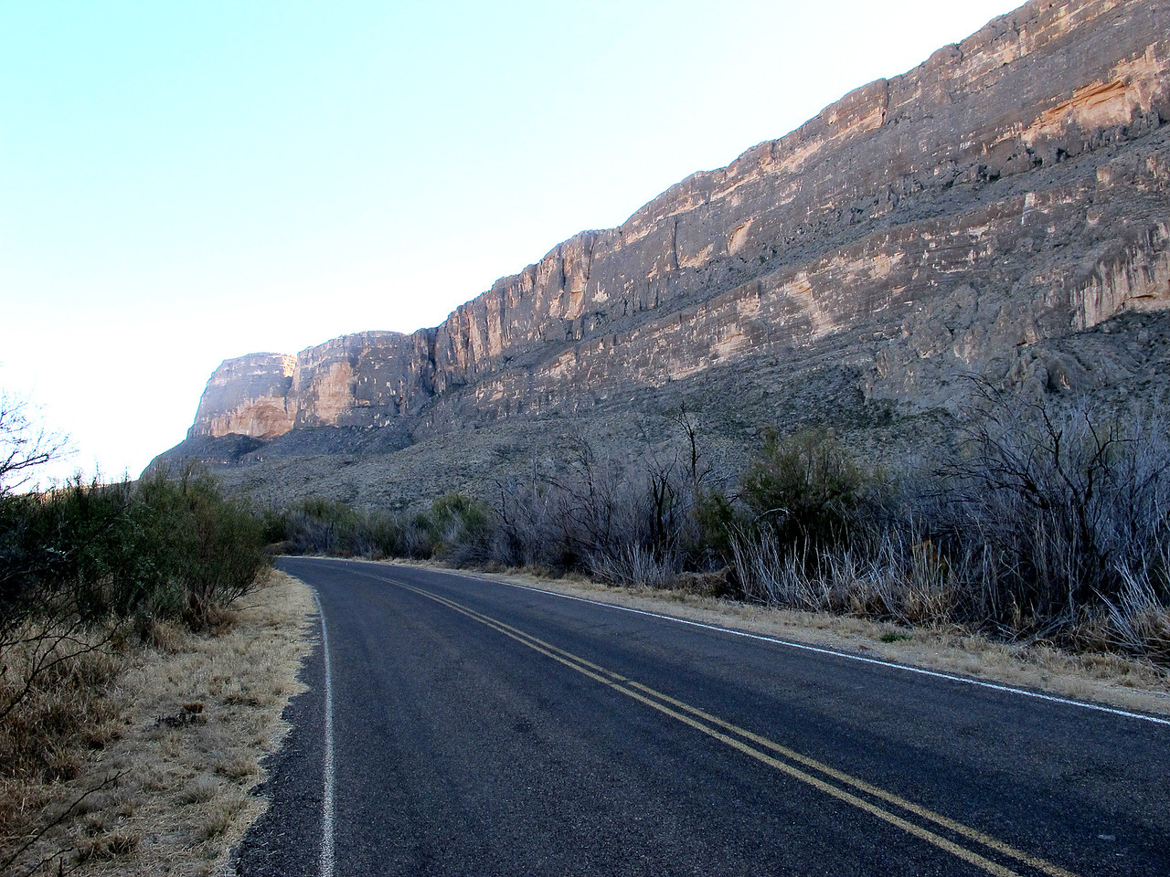 Santa Elena Canyon. I've never seen a mountain 'wall' like this one.