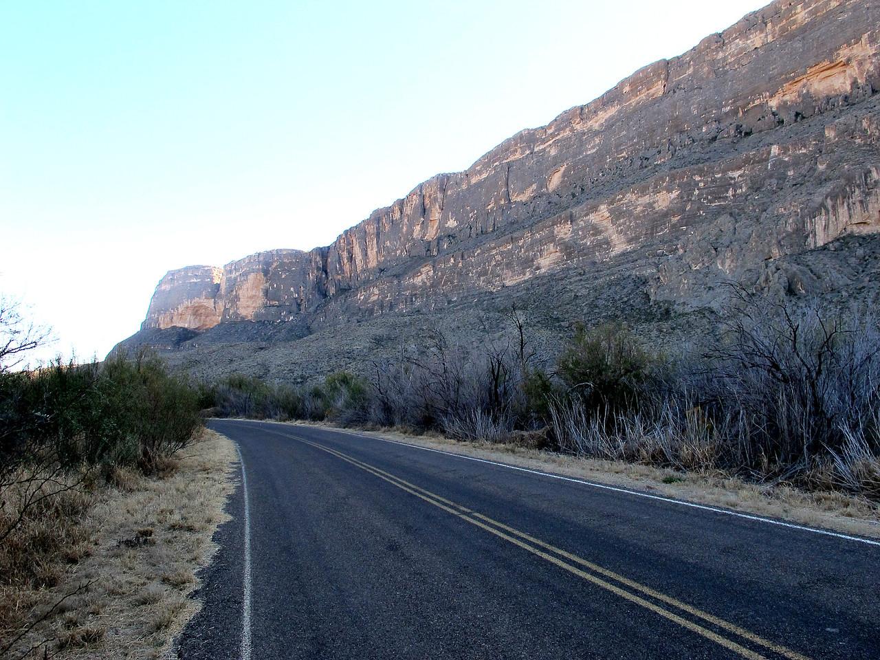 Santa Elena Canyon. I've never seen a mountain 'wall' like this one.