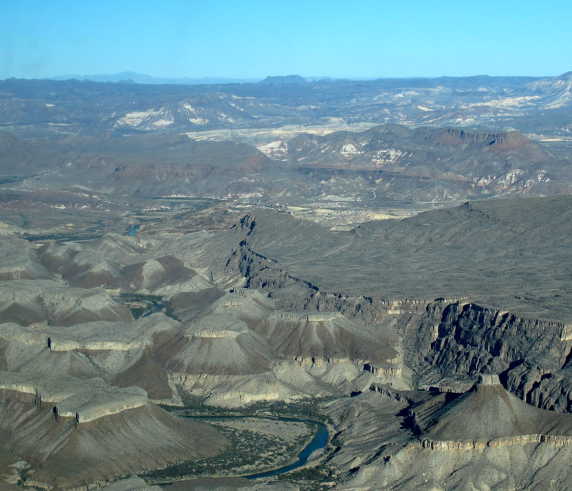 Marcos agrees to fly-over Maverick RV Park (center, right).