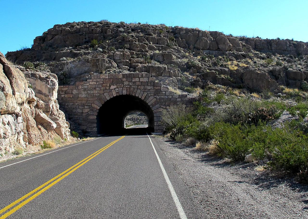 BBNP tunnel.
