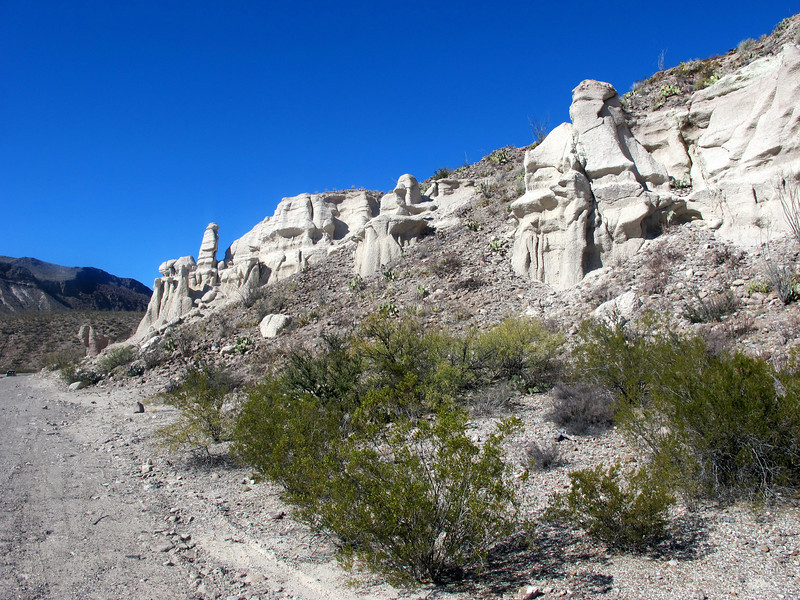 Big Bend State Park rock formations