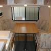 Back dinette / double bed