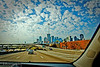 I-30 In Dallas - on the way to the zoo.