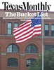 Book Depository and Flag Texas Monthly