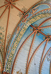 Ceiling detail - Nativity of Mary Church, High Hill