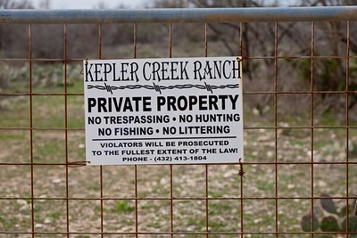 All locations are on private property and trespassing is forbidden.