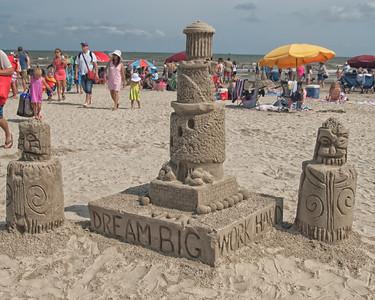 Sand Castle Galveston