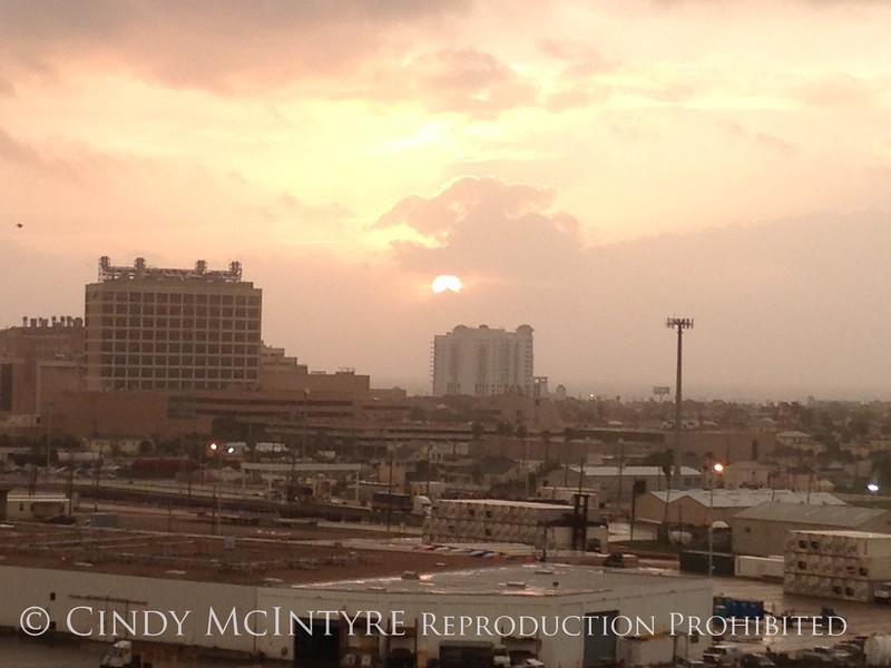 Galveston, TX dawn