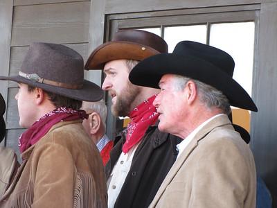barbershop quartet at spindletop