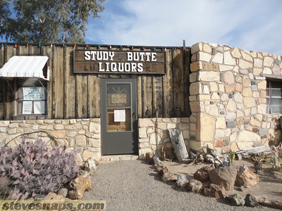 One of two liquors stores Terlingua - Study Butte, Texas