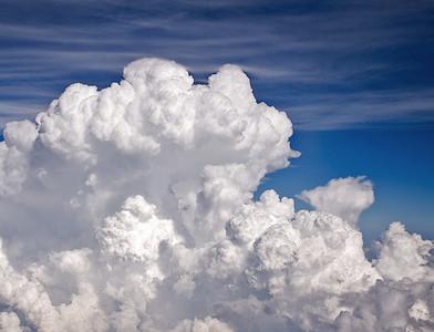 Mother's Day Thunder Storm @ 30,000 ft. - Houston