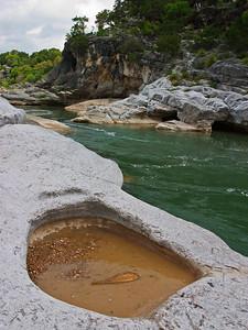 Pedernales Falls - Pothole Trap - Texas