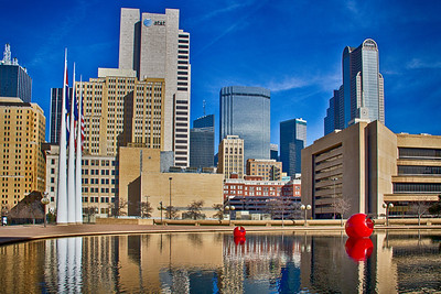 2013 - View from City Hall, Dallas, Texas