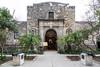 The Alamo Museum exterior in San Antonio, Texas, USA.