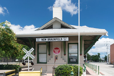 New Braunfels Train Station