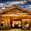 Abandoned garage at Ireland Texas #2