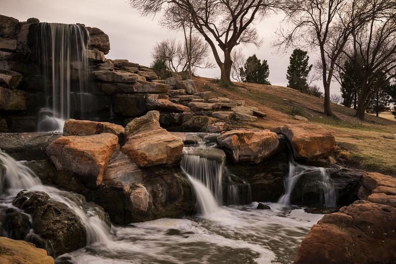 Dunbar Lake Waterfall
