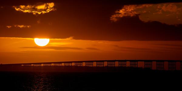 Goose Island Sunset