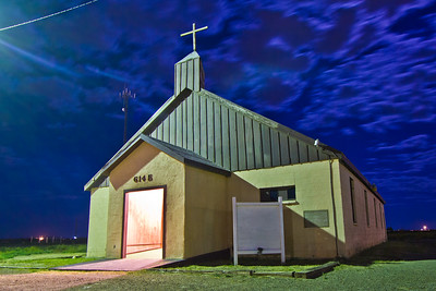 Church in Pecos, Texas