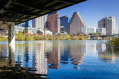 Austin Skyine Reflection