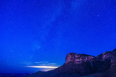 Ghost of the Milky Way over El Capitan