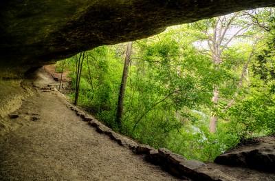 Trail Overhang, OnionCreek