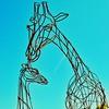 """""""Nurture in Wire"""" - Abilene Zoo - Abilene, Texas"""