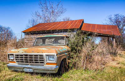 Farming Truck in North Zulch, Texas