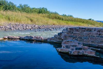 Hot Springs on the Rio Grande River
