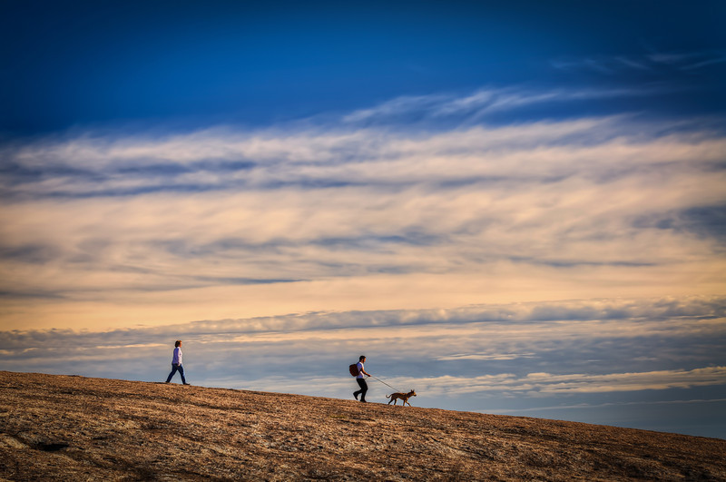 Out for a walk on Enchanted Rock
