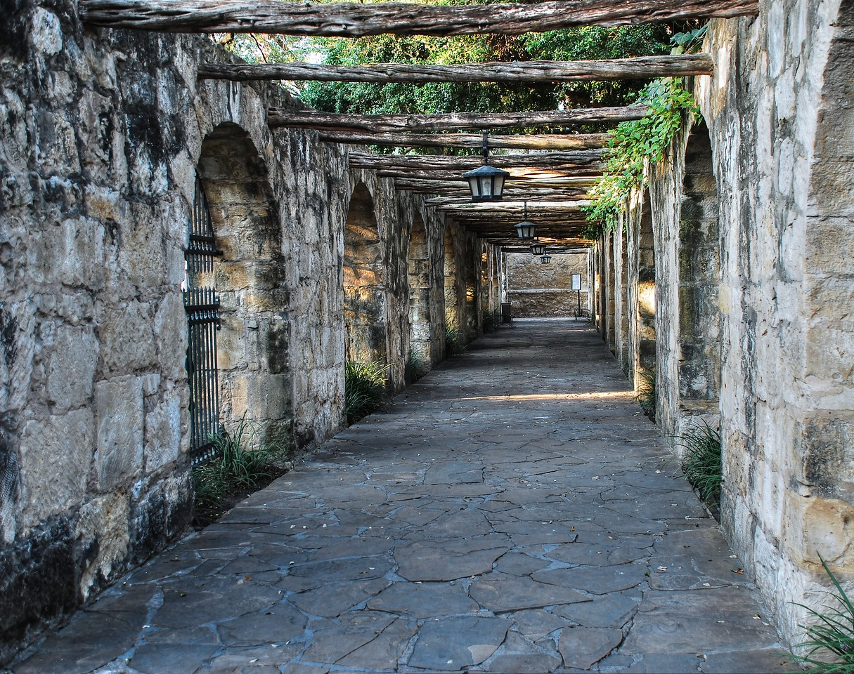 Portico at The Alamo